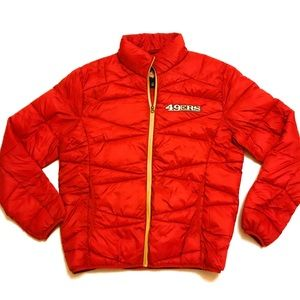 NFL San Francisco 49ers Lightweight Puffer Jacket